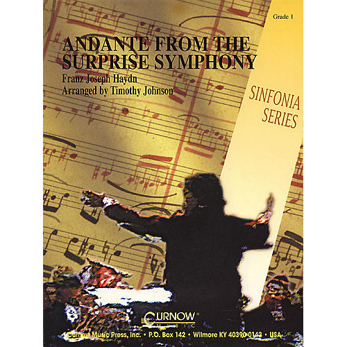 Hal Leonard Andante from the Surprise Symphony (Grade 1 - Score Only) Concert Band Level 1 by Timothy Johnson