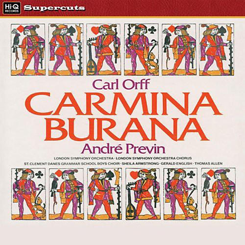 Alliance Andre Previn - Carmina Burana