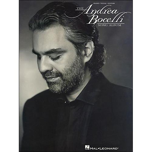 Hal Leonard Andrea Bocelli Song Album arranged for piano, vocal, and guitar (P/V/G)