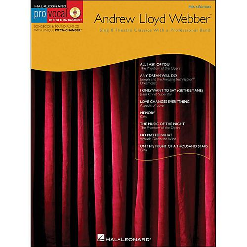 Hal Leonard Andrew Lloyd Webber - Pro Vocal Songbook Men's Edition Volume 11 Book/CD