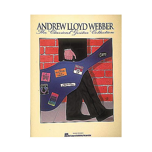 Hal Leonard Andrew Lloyd Webber - The Classical Guitar Collection