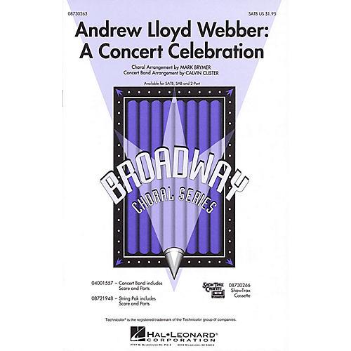 Hal Leonard Andrew Lloyd Webber: A Concert Celebration (Medley) ShowTrax CD Arranged by Mark Brymer