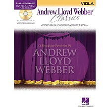 Hal Leonard Andrew Lloyd Webber Classics - Viola Instrumental Play-Along Series Softcover with CD