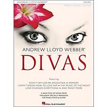 Hal Leonard Andrew Lloyd Webber Divas arranged for piano, vocal, and guitar (P/V/G)
