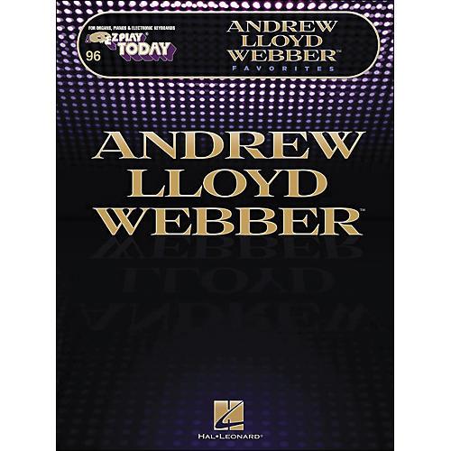 Hal Leonard Andrew Lloyd Webber Favorites E-Z Play 246