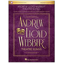 Hal Leonard Andrew Lloyd Webber Theatre Songs - Women's Edition Vocal Collection Book/Audio Online