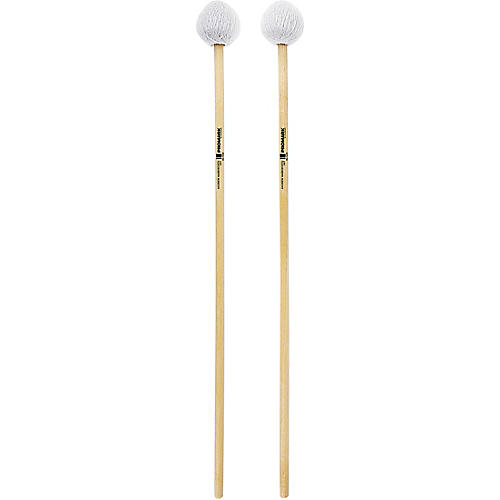 Promark Andrew Markworth Birch Handle Vibraphone Mallets Hard Grey Cord