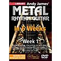 Licklibrary Andy James' Metal Rhythm Guitar in 6 Weeks (Week 1) Lick Library Series DVD Performed by Andy James thumbnail