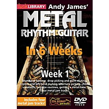 Licklibrary Andy James' Metal Rhythm Guitar in 6 Weeks (Week 1) Lick Library Series DVD Performed by Andy James