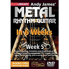 Licklibrary Andy James' Metal Rhythm Guitar in 6 Weeks (Week 5) Lick Library Series DVD Performed by Andy James