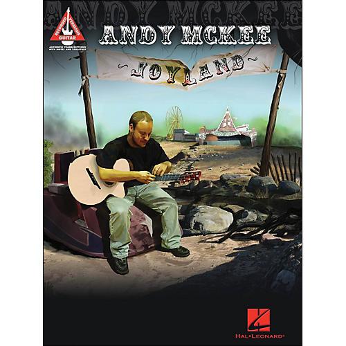 Hal Leonard Andy Mckee - Joyland Guitar Tab Songbook