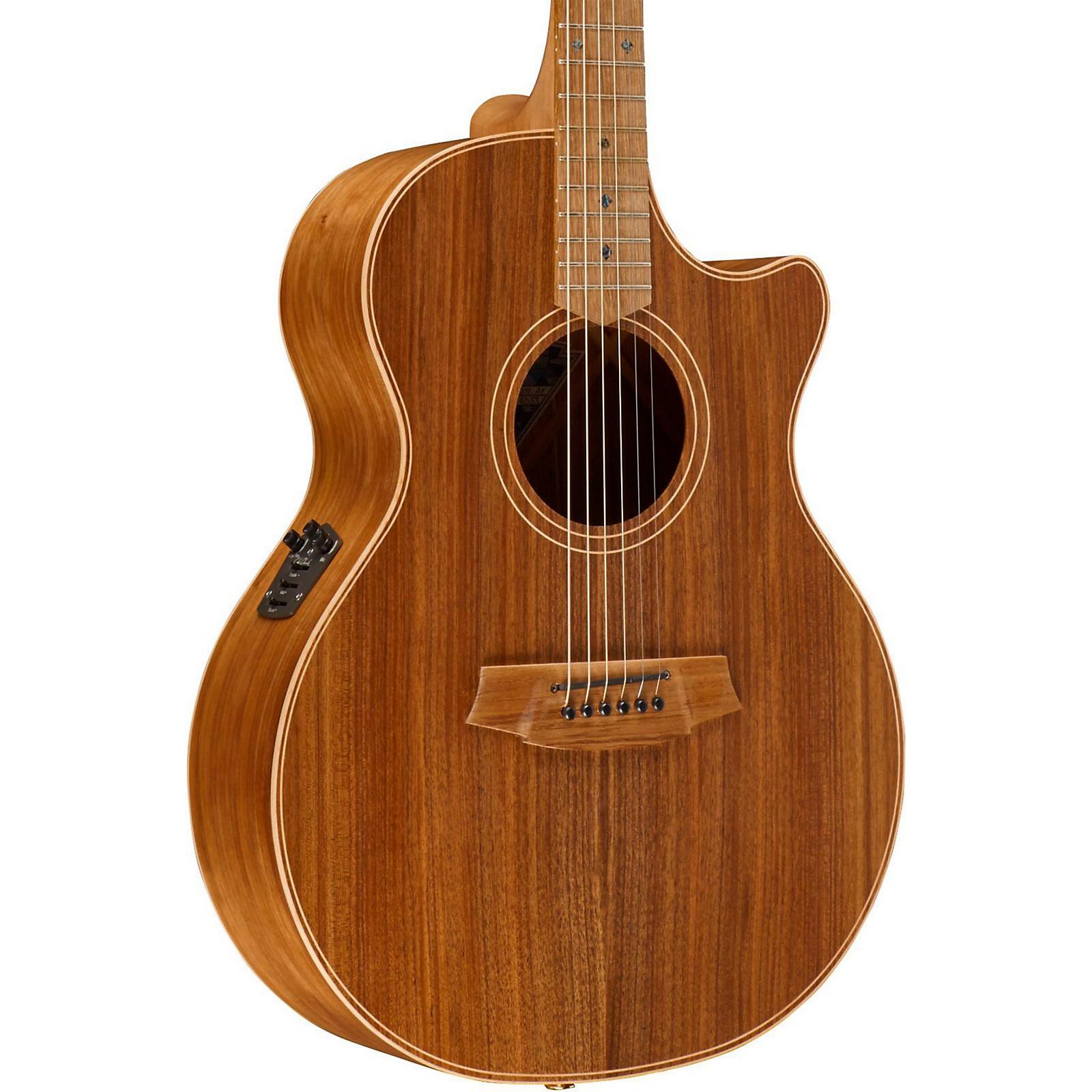 Cole Clark Angel 2 Series Australian Eco Blackwood Grand Auditorium Acoustic-Electric Guitar