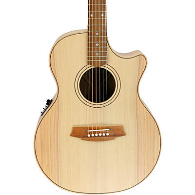 Cole Clark Angel 2 Series Bunya/Blackwood Cutaway Grand Auditorium Acoustic-Electric Guitar