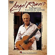 Hal Leonard Angel Romero (The Art of Classical Guitar) Instructional/Guitar/DVD Series DVD Performed by Angel Romero