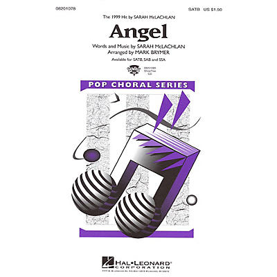 Hal Leonard Angel SSA by Sarah McLachlan Arranged by Mark Brymer