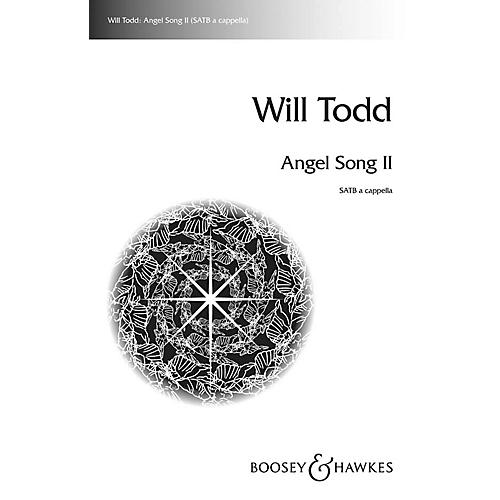 Boosey and Hawkes Angel Song II SATB a cappella composed by Will Todd