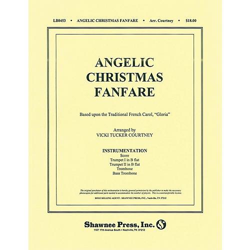 Shawnee Press Angelic Christmas Fanfare (Based on Gloria) Score & Parts arranged by Vicki Tucker Courtney