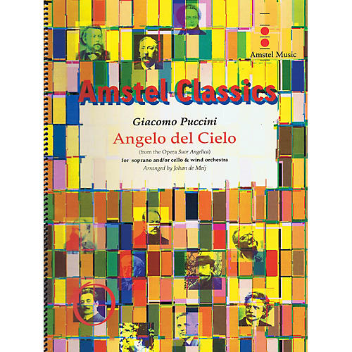 Amstel Music Angelo del Cielo Concert Band Level 3-4 Composed by Angelo del Cielo