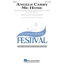 Hal Leonard Angels Carry Me Home (Medley) SATB arranged by John Purifoy