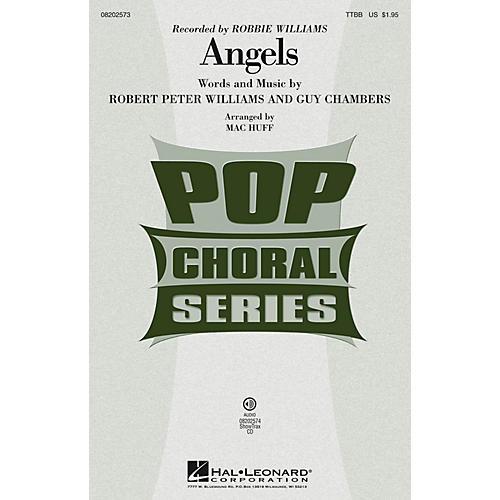 Hal Leonard Angels ShowTrax CD by Robbie Williams Arranged by Mac Huff