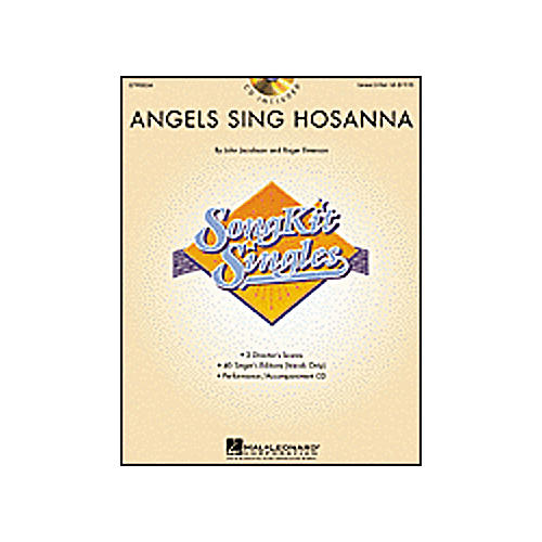 Hal Leonard Angels Sing Hosanna - SongKit Single Book/CD