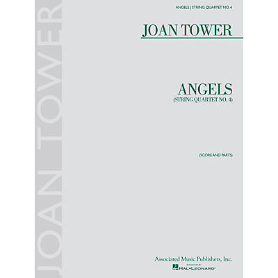 G. Schirmer Angels: String Quartet No. 4 String Ensemble Series Softcover Composed by Joan Tower