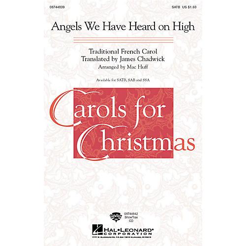 Hal Leonard Angels We Have Heard on High ShowTrax CD Arranged by Mac Huff