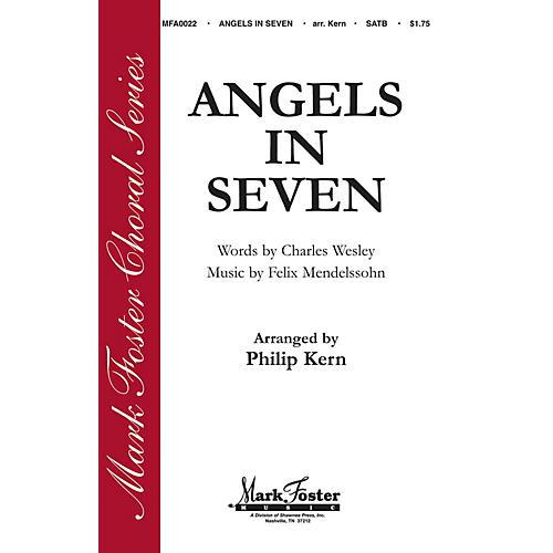 Shawnee Press Angels in Seven (Mark Foster Horizon Series) SATB arranged by Philip Kern
