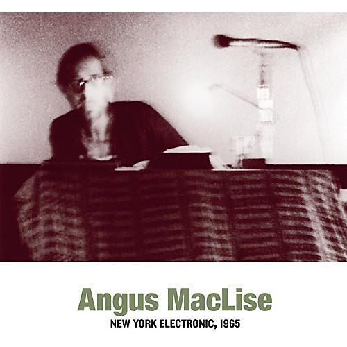 Alliance Angus MacLise - New York Electronic 1965