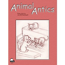 SCHAUM Animal Antics Educational Piano Series Softcover