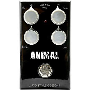 rockett pedals animal od overdrive effects pedal musician 39 s friend. Black Bedroom Furniture Sets. Home Design Ideas