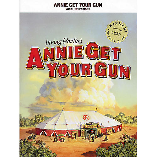 Hal Leonard Annie Get Your Gun Vocal Selections arranged for piano, vocal, and guitar (P/V/G)