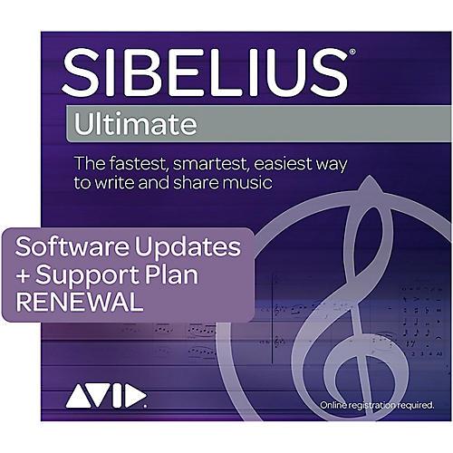 Sibelius Annual Upgrade & Support Plan Renewal for Sibelius (3 years)