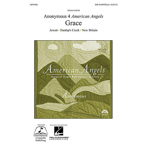 Hal Leonard Anonymous 4 American Angels: Grace SSA A Cappella by Anonymous 4
