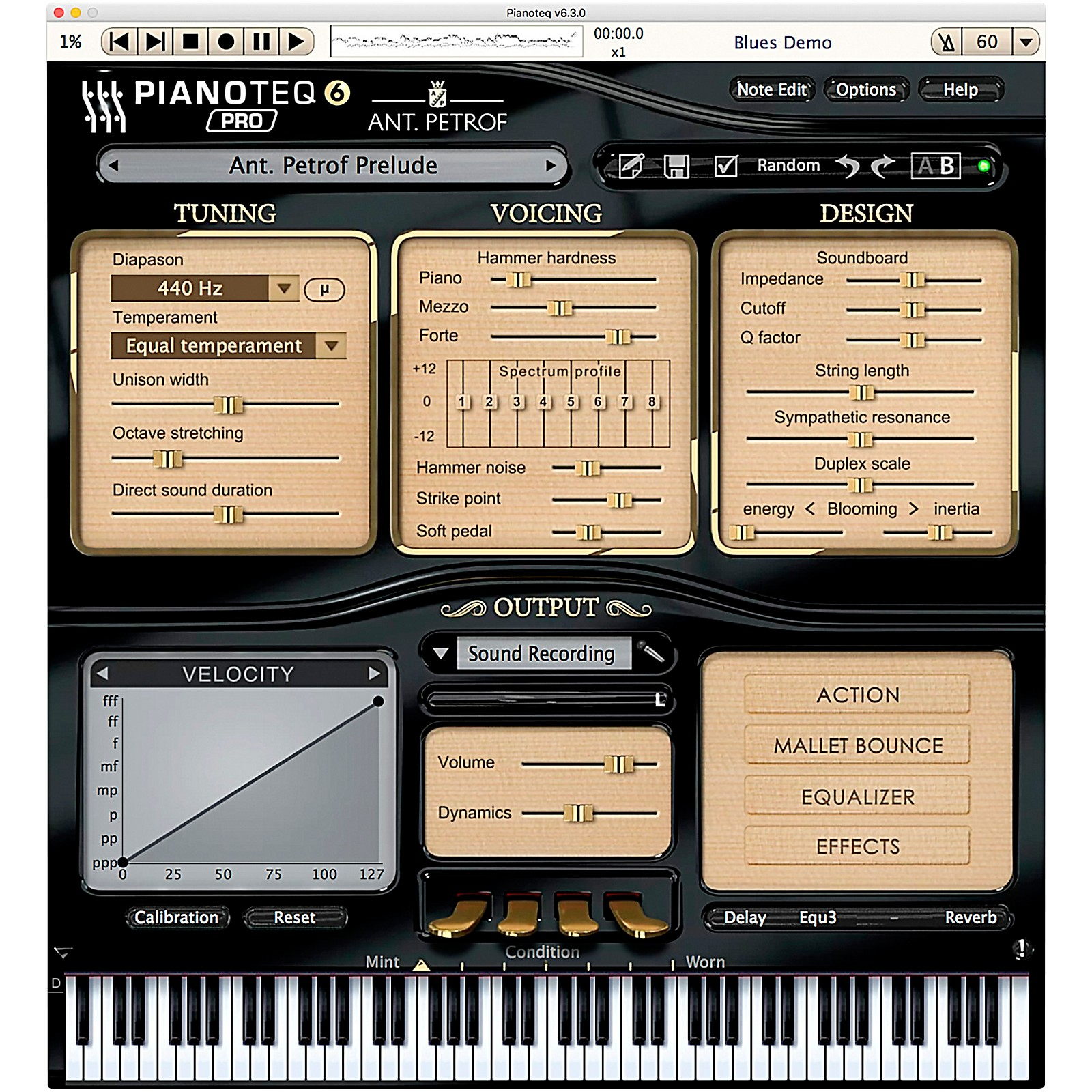 Pianoteq Ant. Petrof 275 GP Software Download