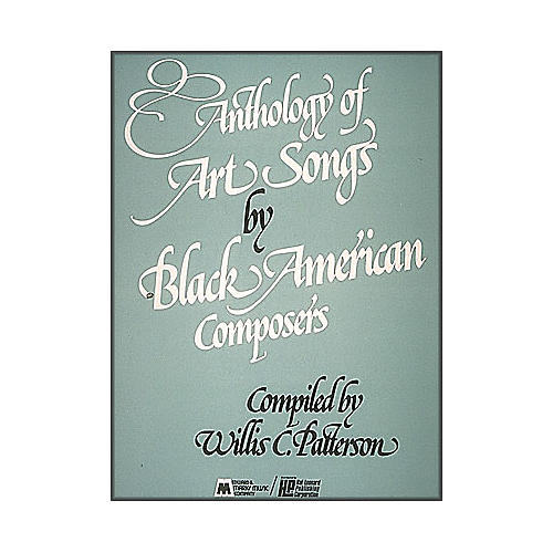 Hal Leonard Anthology Of Art Songs By Black American Composers