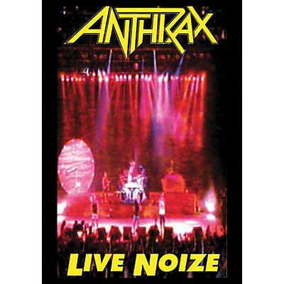 Hal Leonard Anthrax Live Noize DVD 1991 Concert with Public Enemy DVD