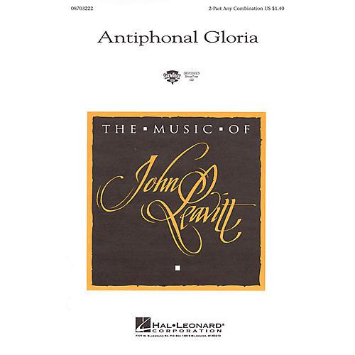 Hal Leonard Antiphonal Gloria ShowTrax CD