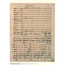 Axe Heaven Antonin Dvorak Music Manuscript Poster - Piano Concerto in G minor, Op. 33