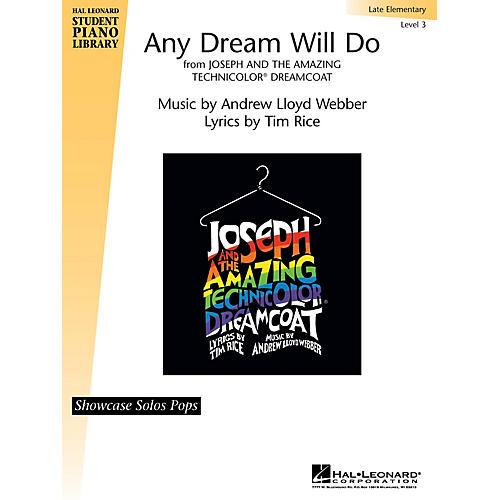 Hal Leonard Any Dream Will Do Piano Library Series by Andrew Lloyd Webber (Level Late Elem)
