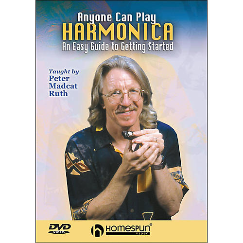Homespun Anyone Can Play Harmonica: An Easy Guide To Getting Started DVD