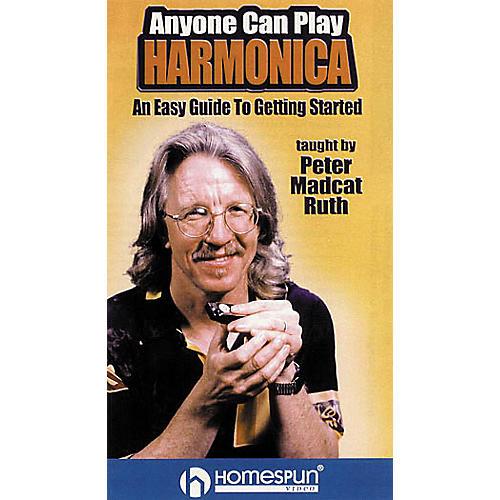 Hal Leonard Anyone Can Play Harmonica