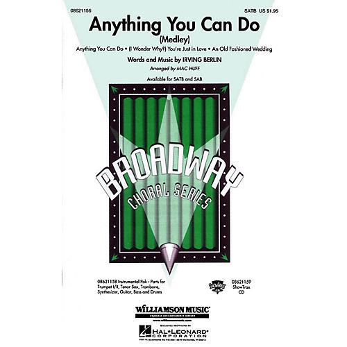 Hal Leonard Anything You Can Do (Medley) SAB arranged by Mac Huff