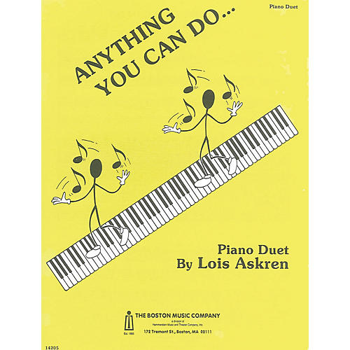 Music Sales Anything You Can Do Music Sales America Series