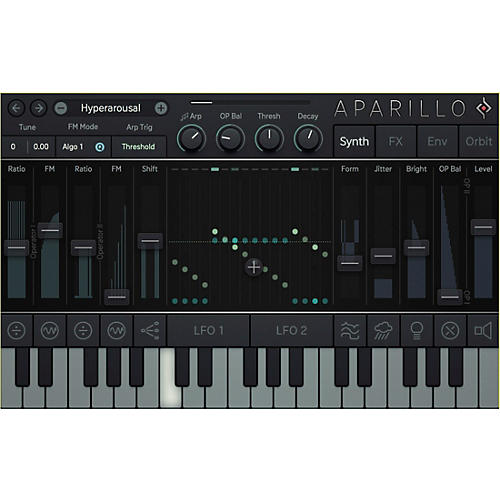 SUGAR BYTES Aparillo Textural Synthesizer