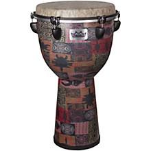 Apex Djembe Drum 12 x 22 in. Red Kinte