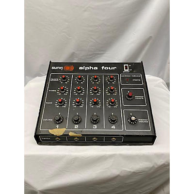 Sunn Aplpha 4 PA Head Powered Mixer