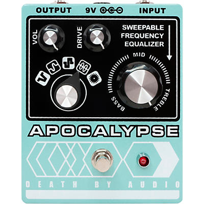 DEATH BY AUDIO Apocalypse Fuzz Effects Pedal