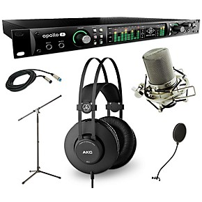 universal audio apollo 8 thunderbolt quad k52 and 990 package musician 39 s friend. Black Bedroom Furniture Sets. Home Design Ideas