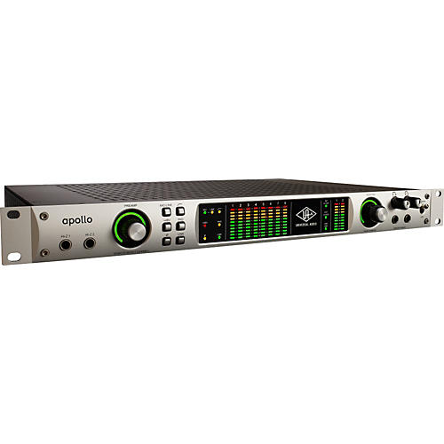 Universal Audio Apollo Interface 18x24 FireWire Audio Interface w/ UAD-2 QUAD DSP & Thunderbolt I/O Option Bay